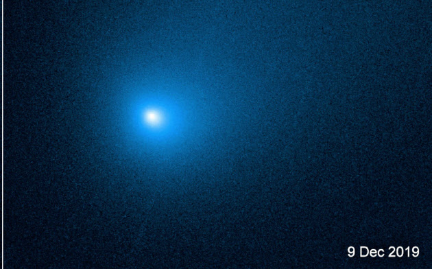 ハッブル宇宙望遠鏡が撮影したボリソフ彗星(NASA, ESA,D. Jewitt)