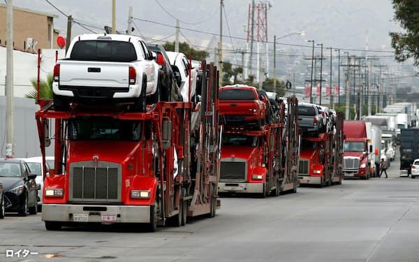自動車の主要2団体が統合し、通商問題などで発言力を強める=ロイター