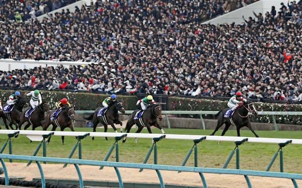 活況の中央競馬は2019年も前年比3.1%増の売り上げを記録した=共同