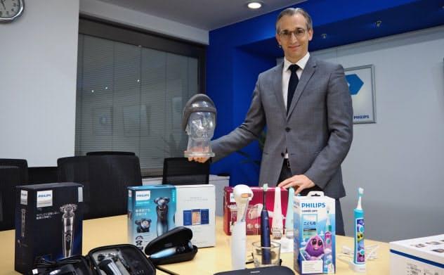 オランダ・フィリップスで消費者向け製品を統括するロイ・ジェイコブス上級副社長