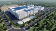 2020年4月から稼働予定のリコーの中国・広東省の新工場(写真は完成イメージ)