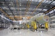 エアバスはアラバマ州の工場で増産する=ロイター