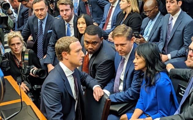 フェイスブックのザッカーバーグCEOは政治広告の制限に否定的で批判を浴びてきた(2019年11月、米ワシントン)