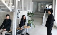 学生寮で学ぶグローバル化、日本人と留学生が共生