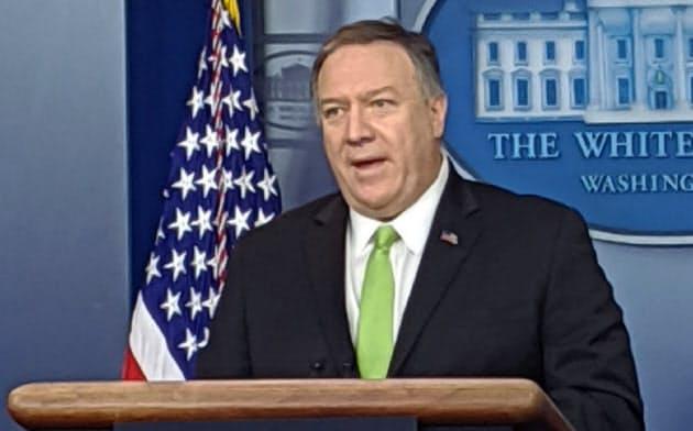 10日、ポンペオ米国務長官は民間機撃墜に関する調査に協力するとウクライナ大統領に伝達した(ワシントン)