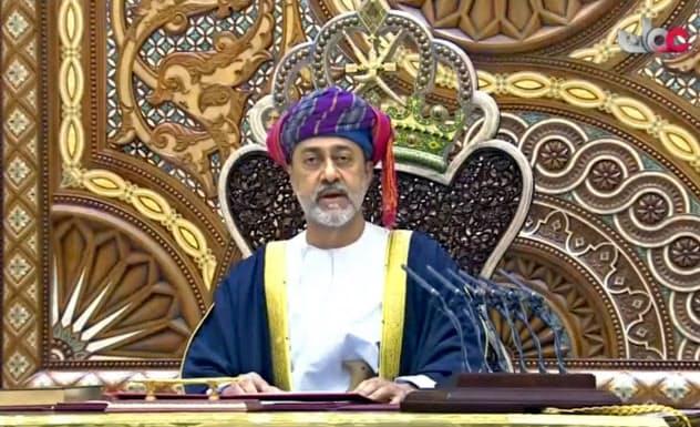 オマーンのハイサム新国王は中立外交の継続を宣言した=AP