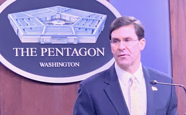 エスパー米国防長官はイラン司令官による4つの米大使館攻撃計画について「確かな情報はない」と語った(米国防総省)