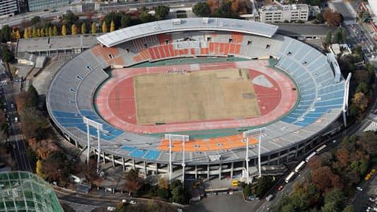 旧国立競技場には日本サッカーのあらゆるメモリアルなゲーム、プレーが刻まれてきた