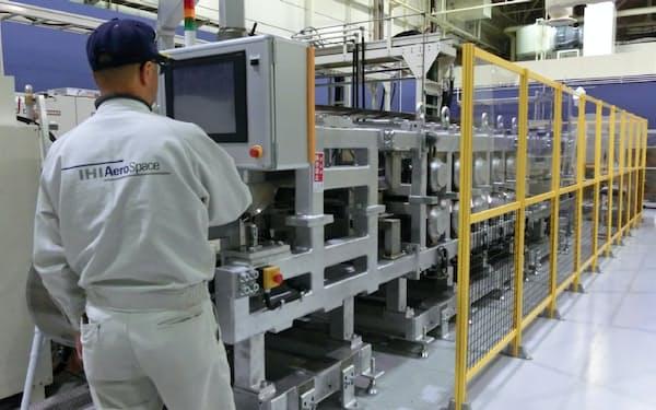 IHI子会社が導入した炭素繊維用の加工設備