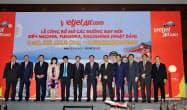 式典にはベトナム訪問中の自民党の二階俊博幹事長も参加した(13日、ダナン市)