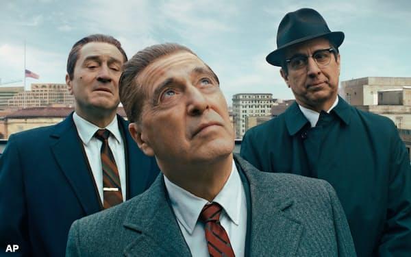 ネットフリックス作品ではマーティン・スコセッシ監督の「アイリッシュマン」が計10部門でノミネートされた=ネットフリックス提供・AP