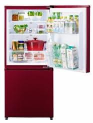 アクア(東京・中央)が発売する、2ドア冷凍冷蔵庫「AQR-17J」