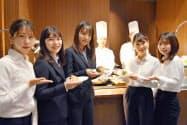 名古屋プリンスホテルスカイタワーは愛知大学の学生が考案したメニューを提供する(名古屋市中村区)