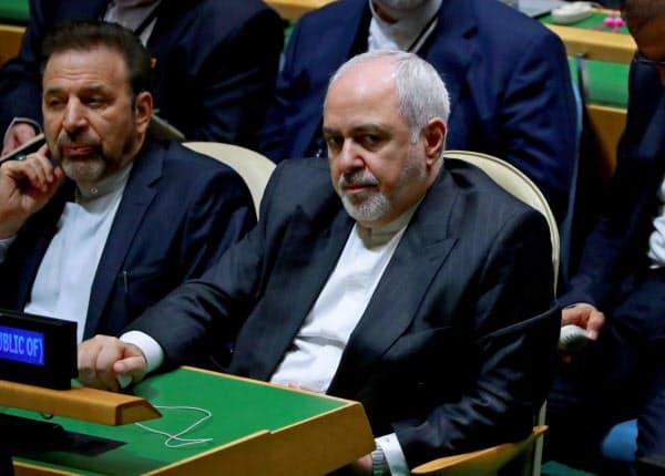 英仏独の対イラン対抗策で、当事国外相が協議する可能性がある(イランのザリフ外相)=ロイター