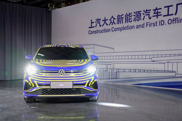 2020年には中国で戦略EV「ID.」シリーズの生産を始める=ロイター