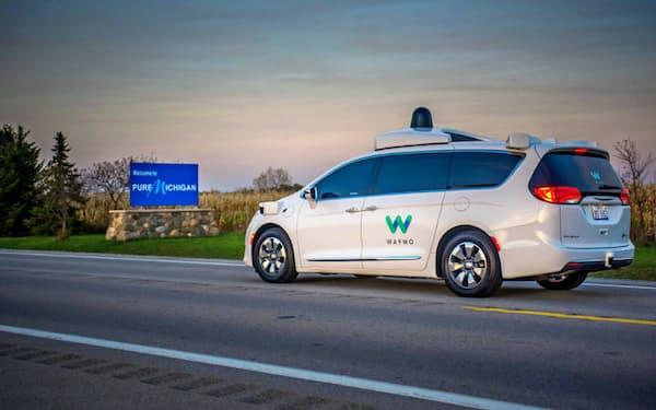 世界でも屈指の技術力を誇る米ウェイモの自動運転車