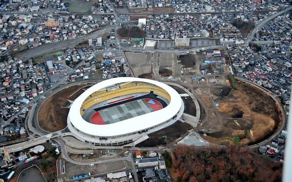 新スタジアムは2万5000席の観客席を備える