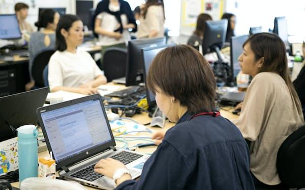 派遣料金は事務職を中心に上昇が続く