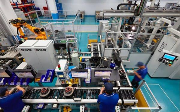 東元電機の台湾のモーター工場