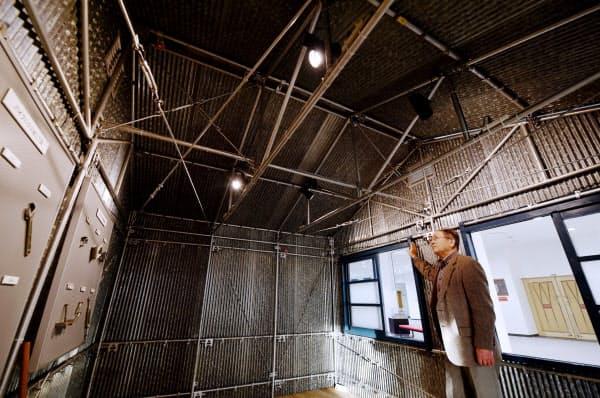 創業当初の主力商品だったパイプハウス(奈良市)
