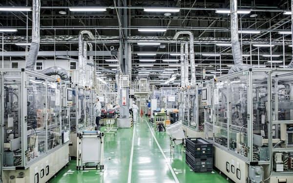 エンビジョンAESCグループの座間工場(神奈川県座間市)でも次世代電池を生産する