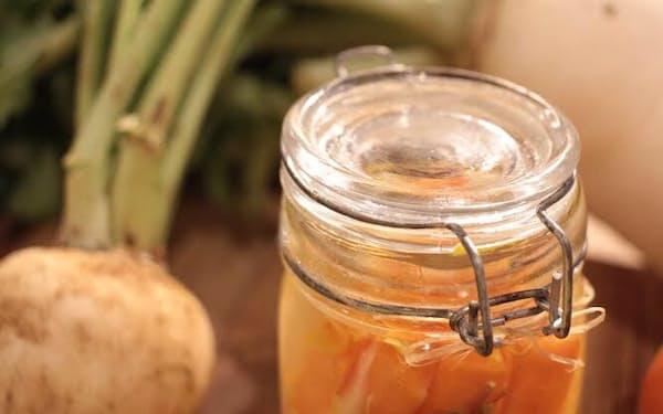 野菜がつくる未来のカタチは県内農作物でピクルスなどを販売する
