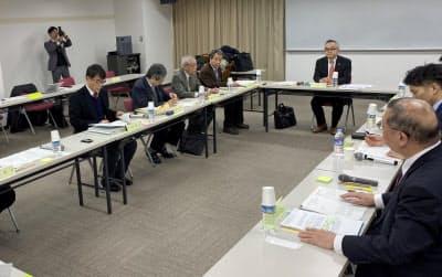 検討会では修繕積立金の総額を開示するなどの案が示された(15日、神戸市)