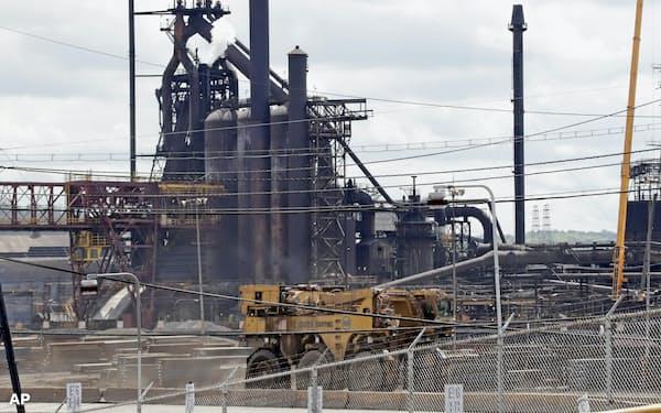 製造業は貿易協議に翻弄されてきた(米ペンシルバニア州)=AP