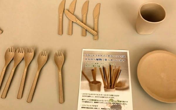 アミカテラの食器は食器乾燥機や電子レンジでも使えるという