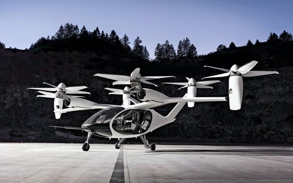 トヨタが出資するジョビーが開発する「空飛ぶクルマ」