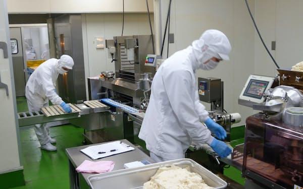 米粉のクッキーは需要が伸びている