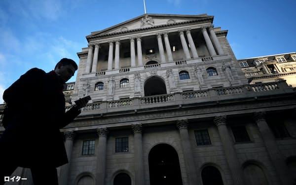金融当局はLIBORからの移行の遅れを懸念している(英イングランド銀行本店)=ロイター