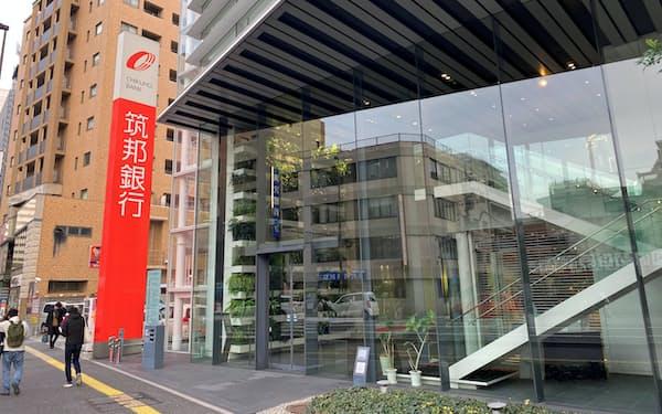 筑邦銀行は福岡市でもSBI証券と共同店舗を開設する(福岡市)
