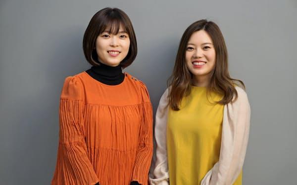 李姉妹(右が姉の「ゆんちゃん」さん、左が妹の「しーちゃん」さん)