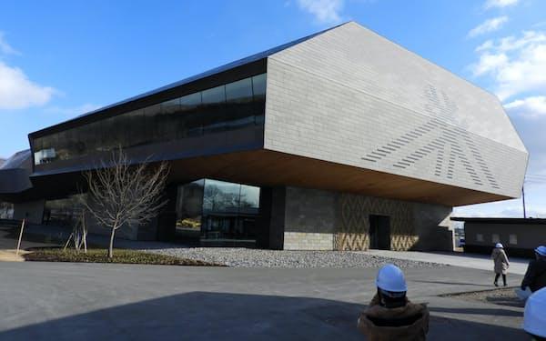 ウポポイは国立アイヌ民族博物館など複数の施設を備える(北海道白老町)