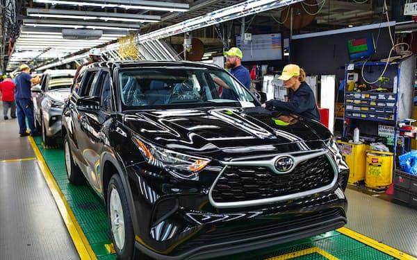 トヨタはインディアナ工場の設備投資を増額する