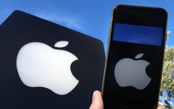 アップル株は1年間で2倍強に上昇