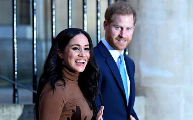 ヘンリー王子夫妻、英王室が離脱認める 経済的自立へ