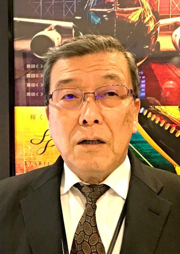 スターフライヤーの松石禎己社長