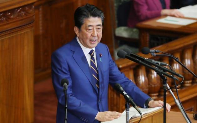 首相「全世代型社保へ改革実行」 通常国会開会