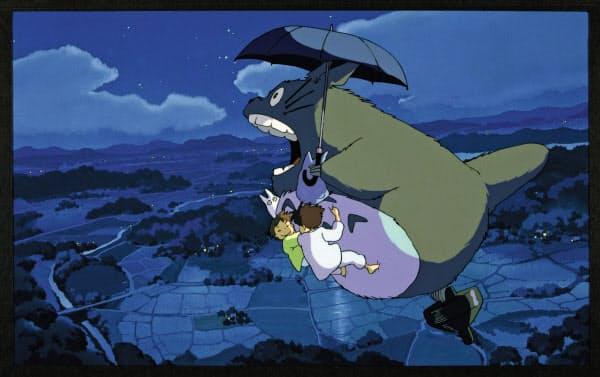 ジブリ作品をテコに会員数の増加をめざす( (C) 1988 Studio Ghibli)