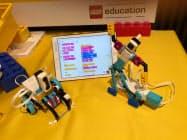 レゴ「SPIKEプライム」で作成したロボット