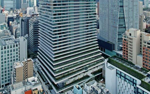 4月に開業する超高層タワー「虎ノ門ヒルズ ビジネスタワー」(東京・港)
