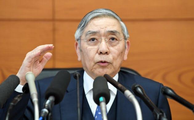 黒田総裁、海外リスク「一時より低下も水準低くない」