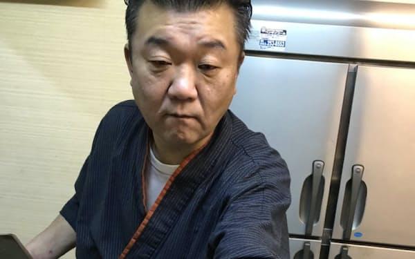 霜降りの「尾の身」など日本近海の鯨肉は味の評価が高い(下関の小料理店「むつ」)