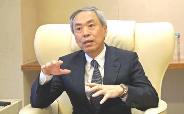 森ビルの辻慎吾社長は東京と世界各都市を結ぶ直行便の少なさを問題視する