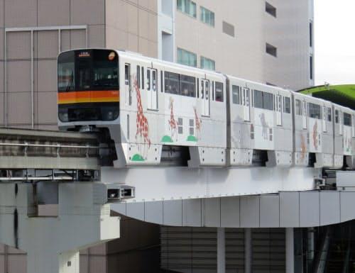 東京都は多摩都市モノレールの延伸に向けた調査費を2020年度予算に計上する方針だ(東京都立川市)