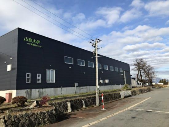 山形大学が閉鎖も含めて検討している次世代電池の研究所(2019年11月、山形県飯豊町)