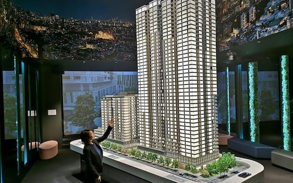 東京建物などが手掛ける山手線内で最大規模となる「白金ザ・スカイ」は最多価格帯が約80平方メートルで1億4000万円弱の