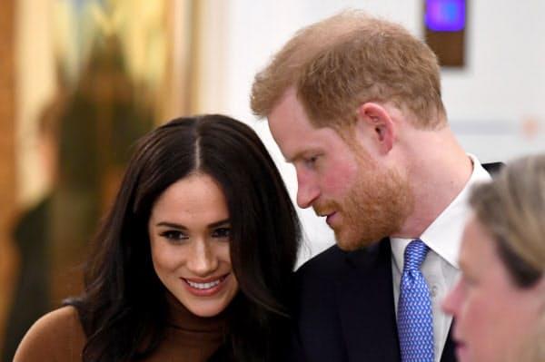 ヘンリー王子とメーガン妃はカナダでの新生活を始めた=ロイター